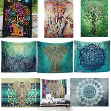 Indian Tapestry Wall Hanging Mandala Hippie Bedspread Bohemian Gypsy Decor Throw