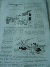 La Fabrication des Poupées Japonaises en Terre Gravure Print 1893