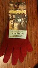 Merinosilk AVOCA Heaven on Earth Possum Fur Silk Wool Blend Kids Gloves sz XS