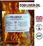 SUPER STRENGTH COD LIVER OIL 1000MG  30 Capsules omega 3 Premium Peak health
