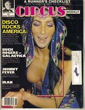 CHER Circus Magazine 6/26/79 BATTLESTAR GALACTICA BUCK ROGERS