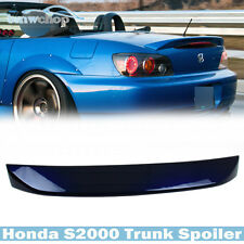 Painted FOR Honda S2000 Convertible OE Rear Trunk Spoiler Wing #B523P Navy Blue