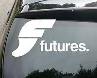 LARGE FUTURES SURF Car/Van/Window JDM VW DUB VAG EURO FAT Vinyl Decal Sticker