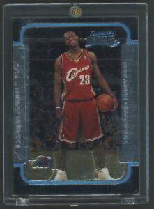 "2003-04 Bowman Chrome #123 LeBron James Cavaliers RC Rookie "" LOOKS MINT """