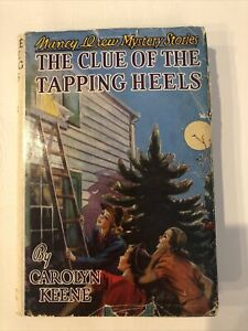 NANCY DREW first edition the clue of the tapping heels 1939 hard cover CAROLYN
