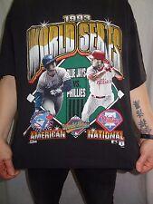 1993 World Series Toronto Blue Jays Philadelphia Phillies T-shirt Size Medium