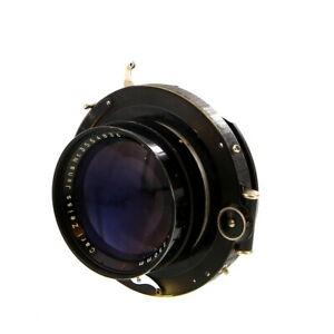 Vintage Carl Zeiss Jena 250mm f/3.5 Tessar T in Compound Shutter - UG