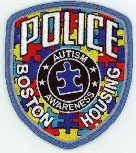 MASSACHUSETTS MA BOSTON HOUSING POLICE AUTISM AWARENESS NEW PATCH SHERIFF