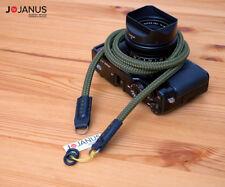 Handmade Camera Neck rope strap  | Fuji X Leica Typ Olympus Pen Sony A7 Nikon