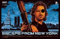 Murale Imprimé - Vintage Film Affiche - Escape From New York - A4A3,A2,A1