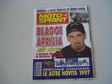 MOTOSPRINT 41/1996 GROTTAZZOLINA/GP RIO/SPAGNA ALBACETE SUPERBIKE/CROSS