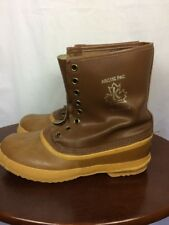 Sorel Kaufman Canada Mens 11 Artic Pac Winter Boots with Liner Brown no laces