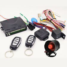Hot Central Door Lock Universal Entry System Remote Control Kit  Way Alarm Siren