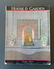 HOUSE & GARDEN MAGAZINE ~ FEBRUARY 1927 ~ FURNITURE NUMBER