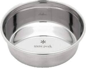 Snow peak Pet food bowl S size 260ml From Japan