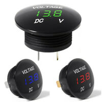 Car Digital LED Volt Gauge Meter Voltage LED Panel Voltmeter Display DC 12V-24V
