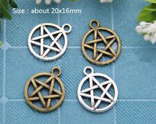 Lots Tibetan Silver Fashion European Charms Jewelry Crafts Pendant DIY Finding