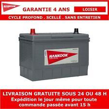 Hankook DC31S 12V 100Ah Batterie de Loisirs Pour Caravane, Camping Car et Bateau