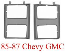 85 87 88 Chevy GMC Head Light Door Set 2PC L&R Truck Blazer Suburban Quad Set Up