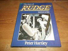 Book. The Story of Rudge Motorcycles. Peter Hartley. 1st. 1985. HB. Free UK P&P.