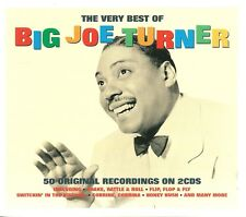 THE VERY BEST OF BIG JOE TURNER - 2 CD BOX SET - SHAKE, RATTLE & ROLL AND MORE