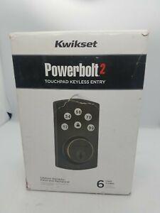 Kwikset Powerbolt2 Electronic Deadbolt Door Lock - Satin Nickel (99070-101)