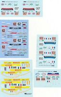 LOT DECALS 1/43 ASTON MARTIN DBR9 LE MANS Part 2 - COLORADO  DCV028