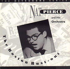 NAT PIERCE AND HIS ORCHESTRA - THE BOSTON BUSTOUT (1995 UK JAZZ CD REISSUE)