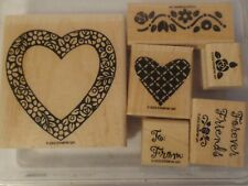Stampin' Up 2002 Hearts & Posies Stamps