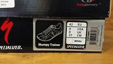 RARE Specialized BG Stumpy Trainer Shoes White Red Size 42 EU 9 US