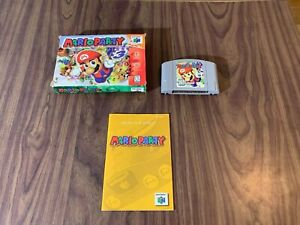 Mario Party 1 (Nintendo 64, N64) Complete in Box -- See pictures -- Authentic