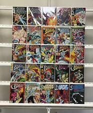 Silver Surfer Marvel  25 Lot Comic Book Comics Set Run Collection Box11