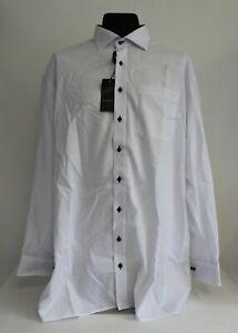 ETERNA Herrenhemd comfort fit - weiß - Kragenweite 47 - 8100/00/E137 #202
