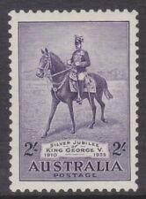 1935 Silver Jubilee King George V 2/- Violet MUH SG 158 (20A)