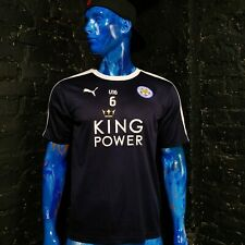 Leicester City The Foxes U16 Training Jersey Puma Shirt Mens Size L