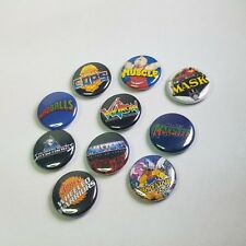 "/""HUH?/"" Lot of 12 BUTTONS  pins pinbacks punk Philosophy"