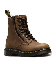 Genuine Dr Martens 1460 Pascal Soft Leather Tan Brown Grizzly Boot UK 6 EU 39