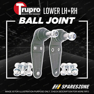 2 Pcs Trupro Lower Ball Joints for Volvo 240 260 Series 242 244 245 262 264 265
