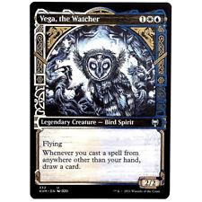 Vega, the Watcher - Showcase M/NM Multi-color Legendary Creature Uncommon KHM