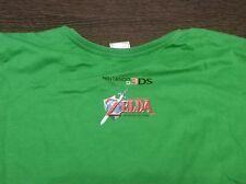 Camiseta The Legend of Zelda: Ocarina Of Time 3D Promocional T-Shirt Oficial 3ds