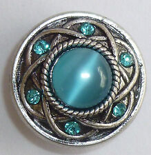 Snap-It Button For Chunk Charm Style Bracelet Jewelry