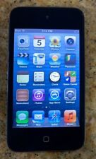 Apple iPod Touch 4th Generation Black, 2 Cameras 8GB Good condition FreeShipping