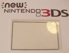 Nintendo New 3DS Replacement Top Screen White Cover Lens Repair part Plastic