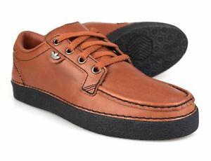 Adidas Originals Spezial McCarten SPZL Brown Leather Trainers CG2921