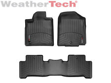 WeatherTech Car Floor Mats FloorLiner for Acura MDX- 1st/2nd Row - Black