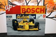 Indycar Eddie Cheever Jr. / John Andretti & Jim Hall Signed Photo's (1992)