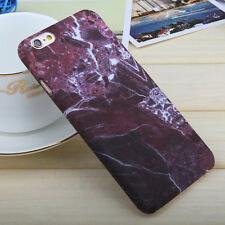 Marble Rock Pattern Hard Bumper Phone Case Cover For Apple iPhone X 8 6s 7 Plus