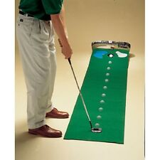 Golf Putting Mat Indoor Green Practice Training Turf Ball Return Pro Trainer Aid