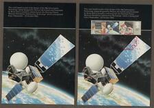26p Information technology Satellite stamps  1982 postcards z.84