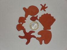 300 grammes de mosaïque plâtre rouge (forme de la mer)